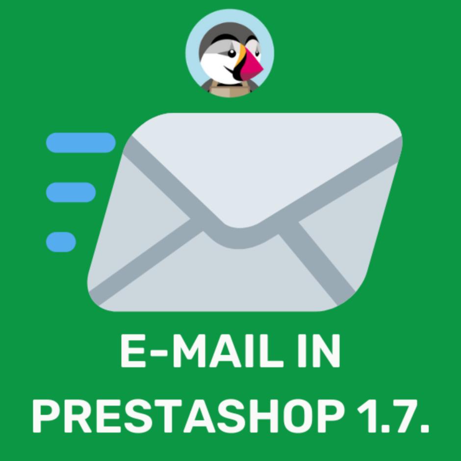 Come modificare le mail su PrestaShop 1.7