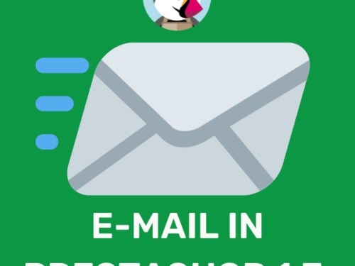 Come modificare le mail su PrestaShop 1.7